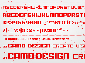 corporate type - font design // 4 images